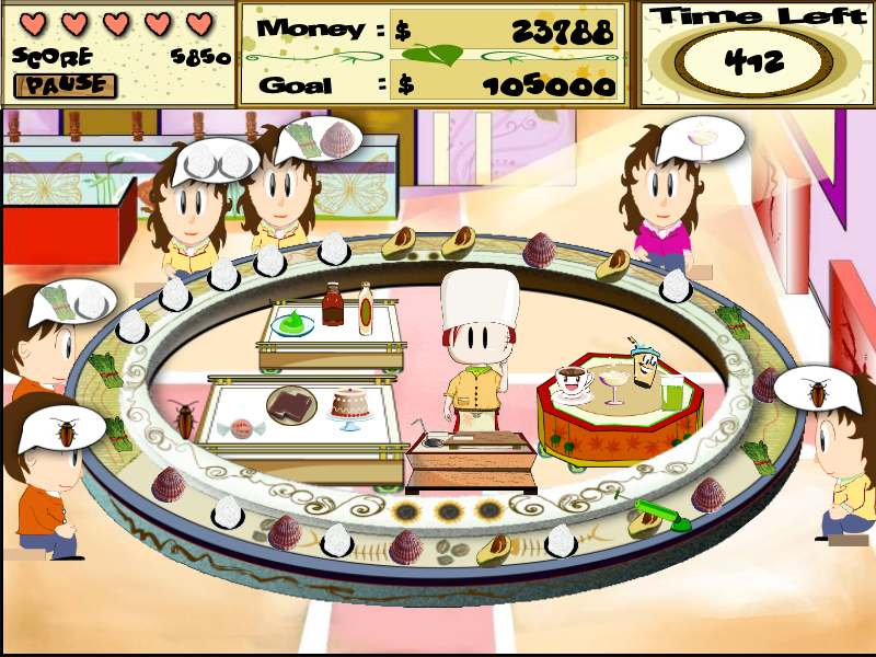 Screenshot of Sushi Frenzy